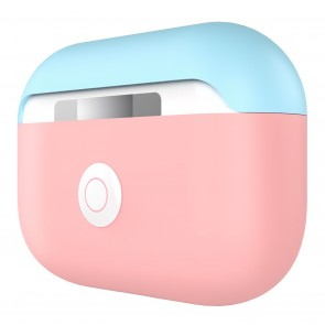 SwitchEasy Colors Duo caps case for AirPods Pro, Baby Pink