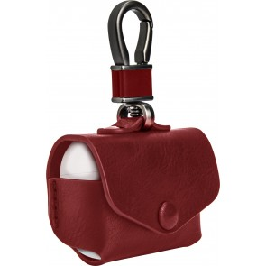 SwitchEasy Wrap for AirPods Pro leather case with ring, Red