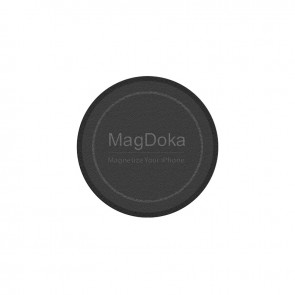 MagEasy MagDoka Mounting Disc for iPhone 12&11 Black