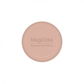 MagEasy MagDoka Mounting Disc for iPhone 12&11 Pink Sand