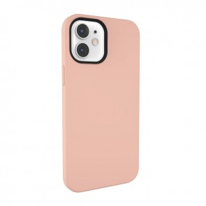 MagEasy MagSkin  for 2020 iPhone 12 mini(Compatible with Apple MagSafe) Pink Sand