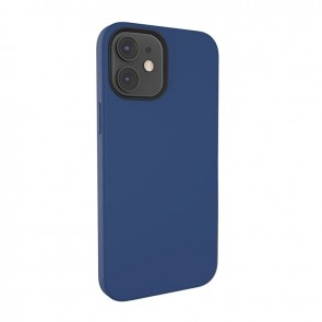 MagEasy MagSkin  for 2020 iPhone 12 mini(Compatible with Apple MagSafe) Classic Blue