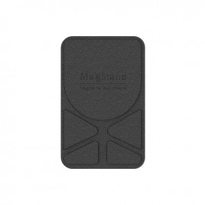 MagEasy MagStand Leather Stand for iPhone 12&11  Black