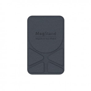 MagEasy MagStand Leather Stand for iPhone 12&11  Classic Blue