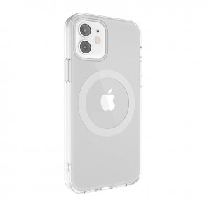 MagEasy MagClear for 2020 iPhone 12 mini (Compatible with Apple MagSafe) Silver
