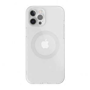 MagEasy MagClear for 2020 iPhone 12 Pro&12  (Compatible with Apple MagSafe) Silver