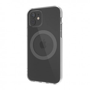 MagEasy MagClear for 2020 iPhone 12 mini (Compatible with Apple MagSafe) Space Gray