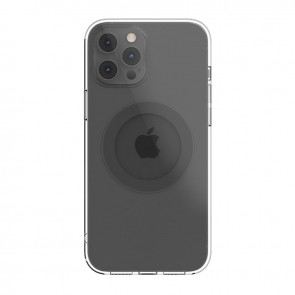 MagEasy MagClear for 2020 iPhone 12 Pro&12 (Compatible with Apple MagSafe) Space Gray