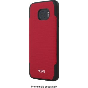 TUMI Coated Canvas Co-Mold Case for Samsung Galaxy S7 Edge - Coated Canvas Red