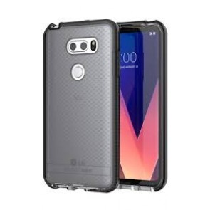 Tech21 Lg V30 / V30 Plus Evo Check Case - Smokey And Black