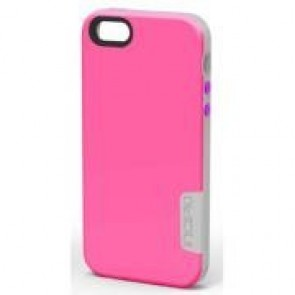 Incipio Phenom Case for iPhone 5S - Retail Packaging - Pink/White/Purple