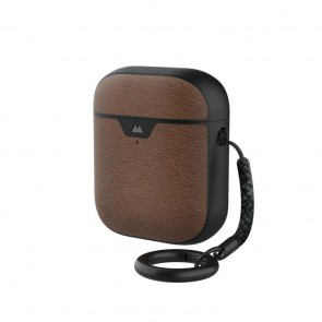 Mous AirPods 1 & 2 Case Brown Leather