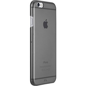 Just Mobile TENC Self-Healing Ultra-Slim Transparent Case for iPhone 6s/6 - Retail Packaging - Grey