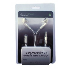 Professional Cable ETM4001-HDPHONE Headset for iPhone/iPod - Retail Packaging - White