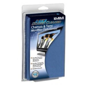Klear Screen KS-HDCOM Microfiber Chamois & Terry Cloth Combo