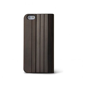 Reveal iPhone 6 Folio Case - Nara Wooden Folio by Reveal - Stylish Natural Wood Exterior - Eco Friendly - Flip Open Screen Protector - Fits iPhone 6 Only
