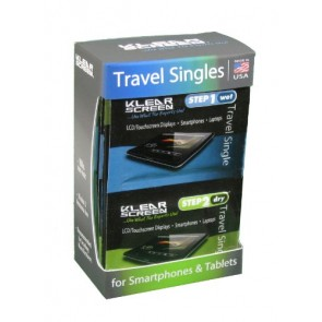 Klear Screen KS-SP12 Travel Singles Kit