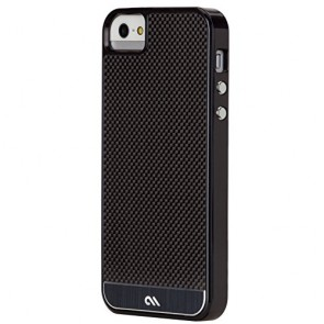 Case-Mate Carbon Fiber Case for Apple iPhone 5/5S - Retail Packaging - Black