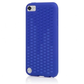 Incipio IP-427 Micro Texture Case for iPod touch 5G - Duo-Tone - Dark Ultraviolet Blue/Ultraviolet Blue