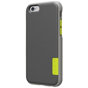 Incipio Phenom for iPhone 6 - Dark Gray/Light Gray/Electric Lime