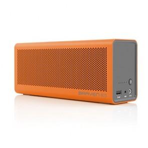 Braven 805 Wireless HD Bluetooth Speaker - Retail Packaging - Orange/Gray