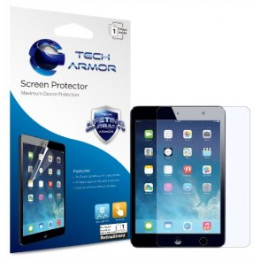 Tech Armor RetinaShield Blue Light Filter Screen Protector for iPad mini and iPad mini with Retina Display (ALL MODELS) - Great for Kids - Filter out Eye-Fatigue and Eye-Strain causing Blue Light - with Lifetime Replacement Warranty [1-Pack] - Retail Pack