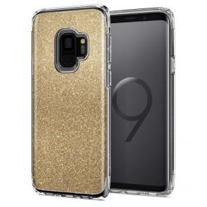 Spigen Samsung Galaxy S9 Slim Armor Crystal Glitter Gold Quartz