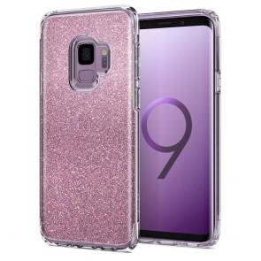 Spigen Samsung Galaxy S9 Slim Armor Crystal Glitter Rose Quartz