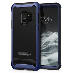 Spigen Samsung Galaxy S9 Reventon Mettalic Blue