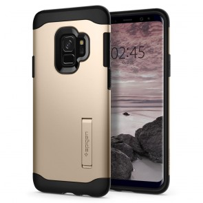 Spigen Samsung Galaxy S9 Slim Armor Maple Gold