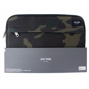 JACK SPADE Sleeve for Surface Pro 3/Surface Pro 4 - Camo Wax Twill
