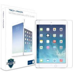 Tech Armor Apple iPad Air (Generation 5) Premium Ballistic Glass Screen Protector - Protect Your Screen from Scratches and Drops - Maximize Your Resale Value - 99.99% Clarity and Touchscreen Accuracy