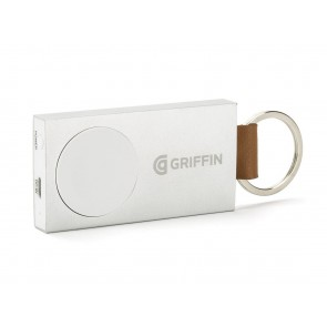 Griffin Travel Battery Pack for Apple Watches 38mm and  42mm in Aluminum