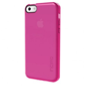 Incipio Feather Clear Case for iPhone 5C - Retail Packaging - Clear Pink