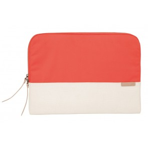 STM grace 11-in. laptop sleeve  coral/dove