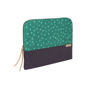 STM grace 13-in.  laptop sleeve  teal dot/night sky
