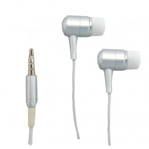 Professional Cables HDPHONE-WH Shredphones Replacement Stereo Headset with Mic for iPhone/iPod - Retail Packaging - White