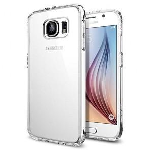 Spigen Galaxy S6 Case Ultra Hybrid Crystal Clear