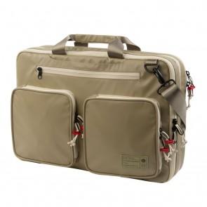 HEX Terra Expandable Briefcase Khaki Utility