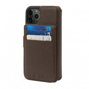 HEX 4-in-1 Leather Case for iPhone 11 PRO BROWN
