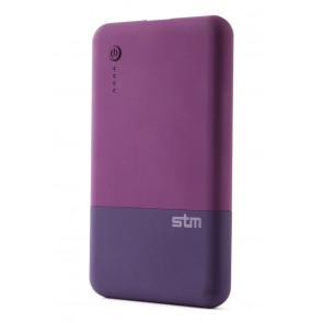 STM grace PowerBank 5k mAh dark purple