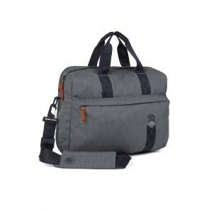 STM judge messenger bag - fits up to 15-in. laptop tornado grey