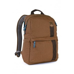 STM banks backpack - fits up to 15 laptop desert brown
