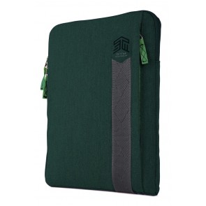 STM ridge 13-in. laptop sleeve botanical green