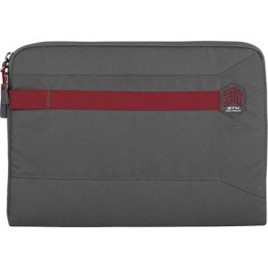 "STM summary 13"" laptop sleeve granite grey"