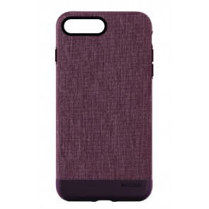 Incase Textured Snap for iPhone 8 HEATHER DEEP RED