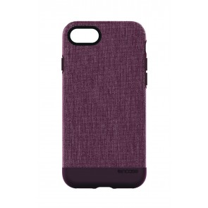Incase Textured Snap for iPhone 8 Plus HEATHER DEEP RED