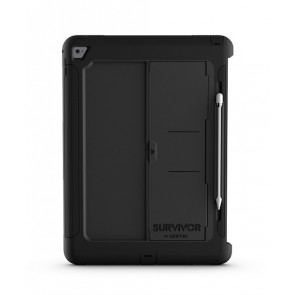 Griffin Survivor Slim Tablet for 12.9-inch iPad Pro in Black/Black/Black