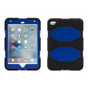 Griffin Survivor All Terrain Tablet for iPad mini 4 in Black/Blue/Black