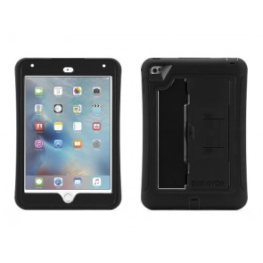 Griffin Survivor Slim Tablet for iPad mini 4 in Black/Black/Black